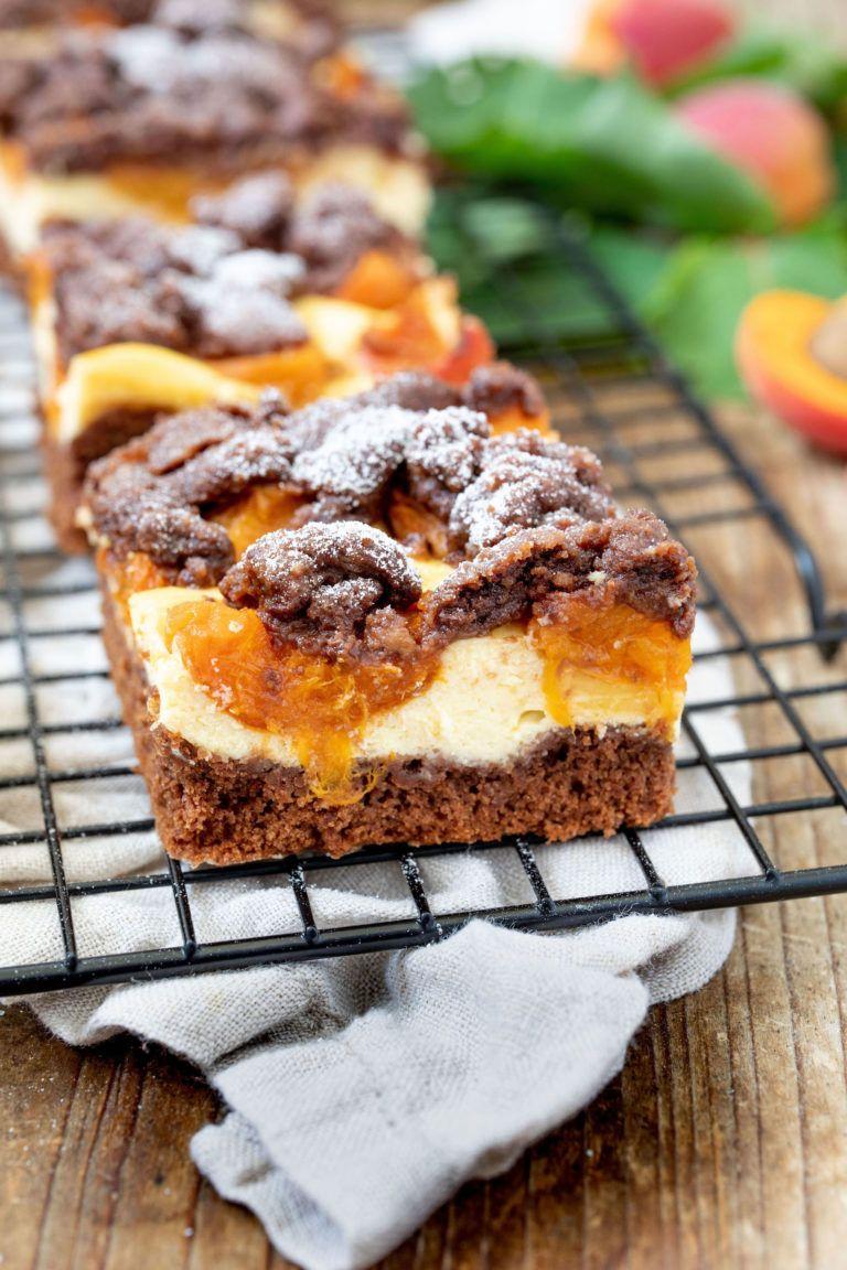 Schoko-Marillenkuchen mit Streusel #quickcookies