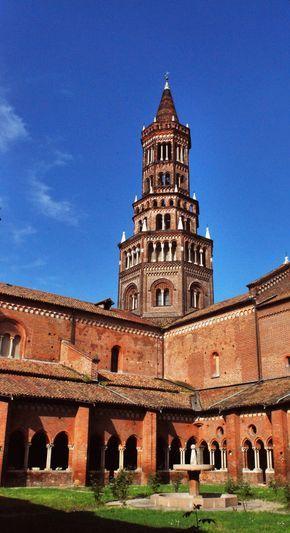 La Ciribiciaccola, la splendida torre nolare dell'abbazia ...