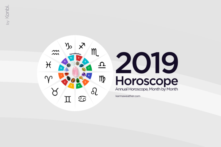 Horoscope 2019 yearly month by month feng shui 2019 - What is the lucky color of the year 2019 ...