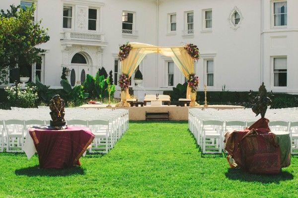 Vibrant Indian Wedding At The Dolce Hayes Mansion Junebug Weddings