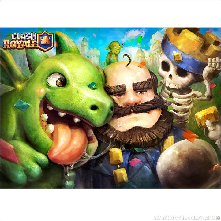 clash-royale-baby-dragon-king-moment.jpg (722×722) | cards ...