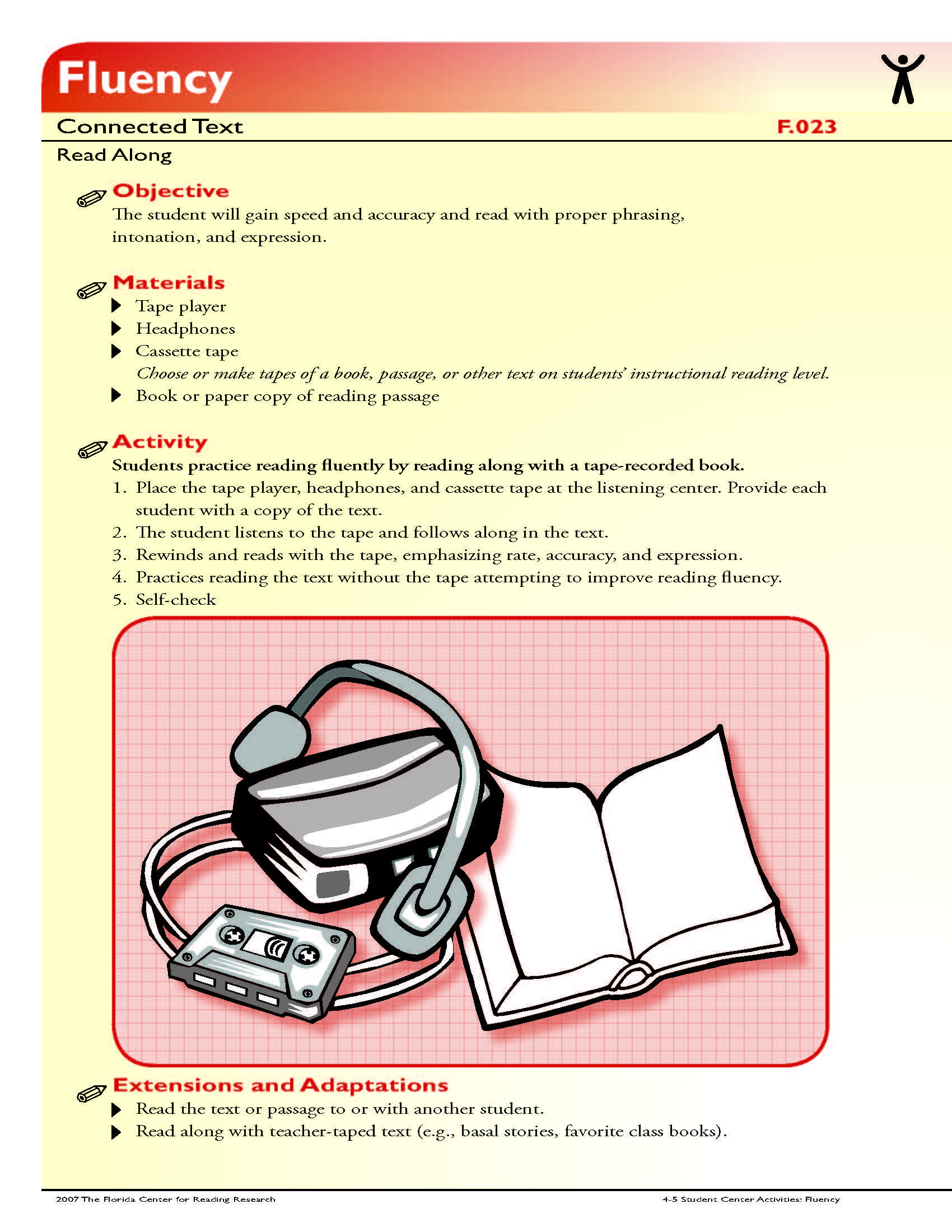 The Student Will Gain Speed And Accuracy And Read With Proper Phrasing Intonation And Ex Reading Foundational Skills Foundational Skills First Grade Reading [ 2200 x 1700 Pixel ]