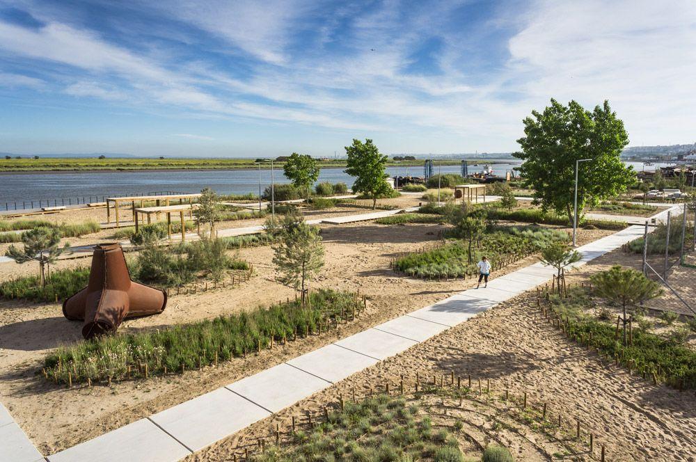 Tagus Linear Park By Topiaris Landscape Architecture 04 Landscape Architecture Works Landezine Proekty Detskie Ploshadka