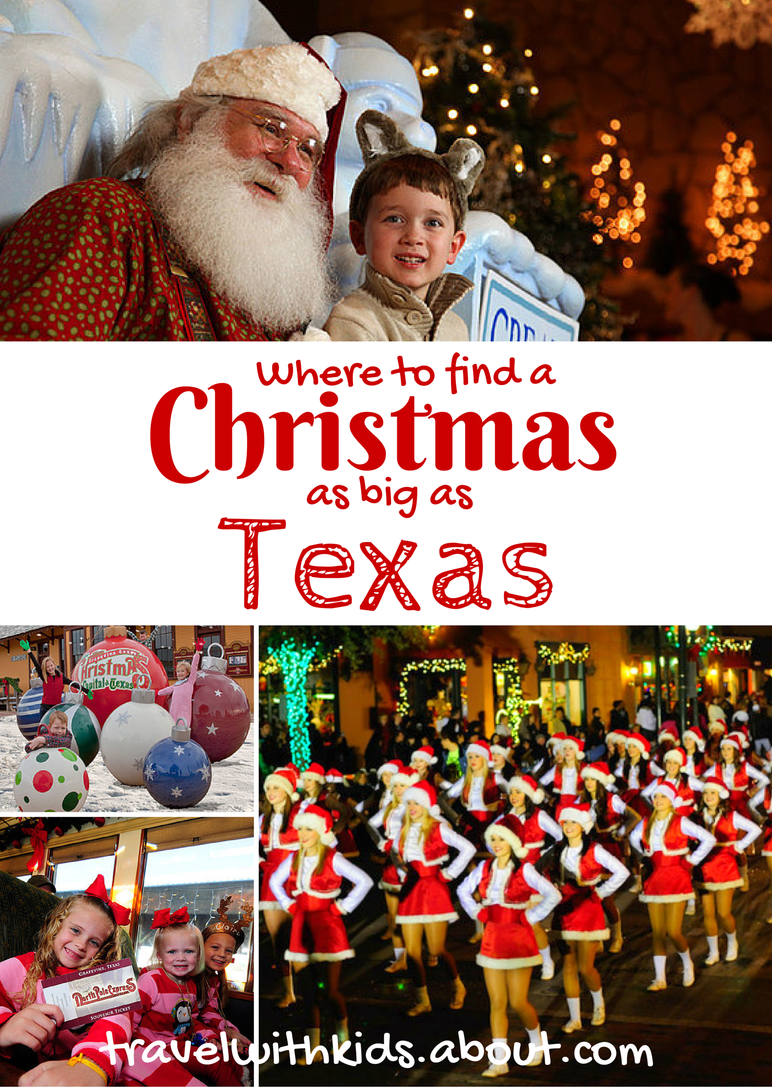 Winter Vacation Destinations in Texas Christmas