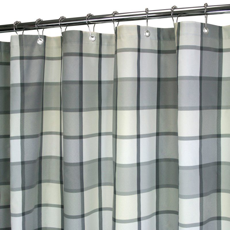 Park B Smith Watershed Barton Shower Curtain Platinum Bart40
