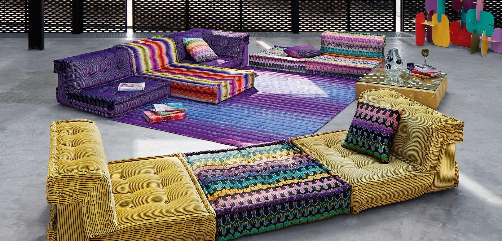 Mah Jong Composition Missoni Home Sofas Roche Bobois Mah