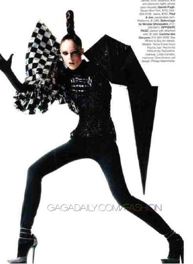 Gareth Pugh v  www.fashion.net
