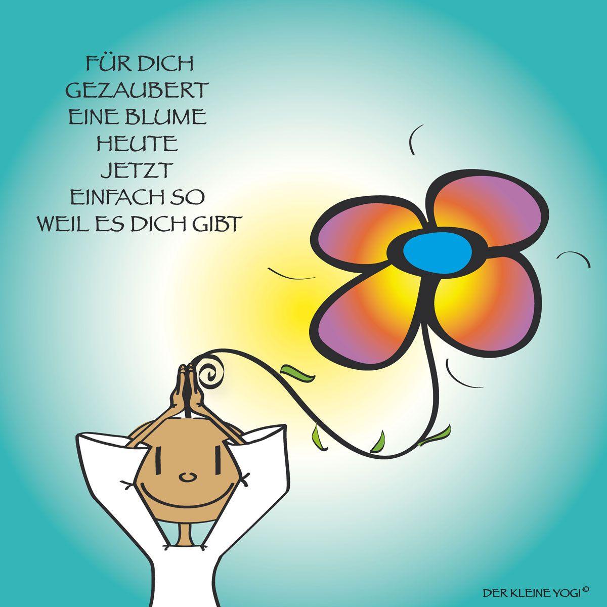 Der Kleine Yogi Postkarte Zum Geburtstag Wunsch Ich Dir