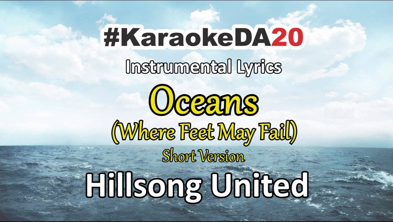 Hillsong United - Oceans (Instrumental With Lyrics Short