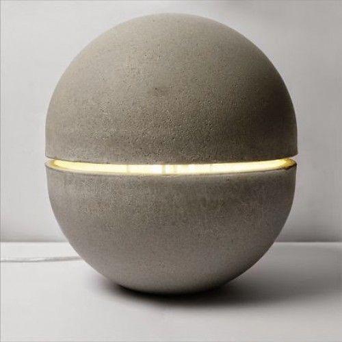 Industrieel interieur - beton lamp - industriele lampen ...