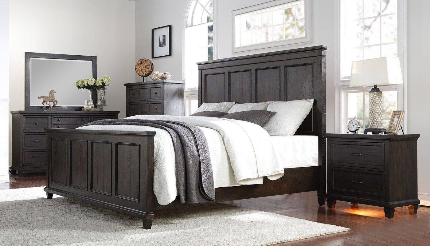 Cedar Grove 6 Piece Collection Home Zone Furniture Bedroom Bedroom Furniture Layout Mirrored Bedroom Furniture Furniture