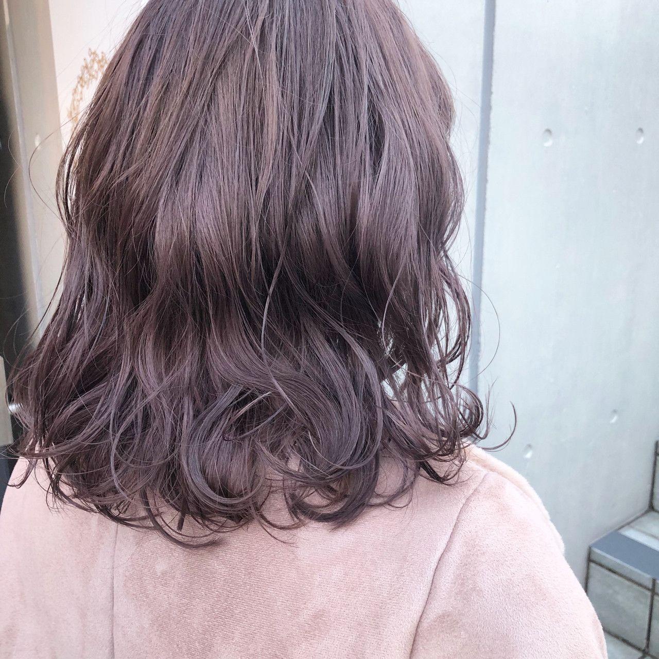 春のヘアカラーはピンクがかわいい モテ髪色レシピ集 Hair 髪