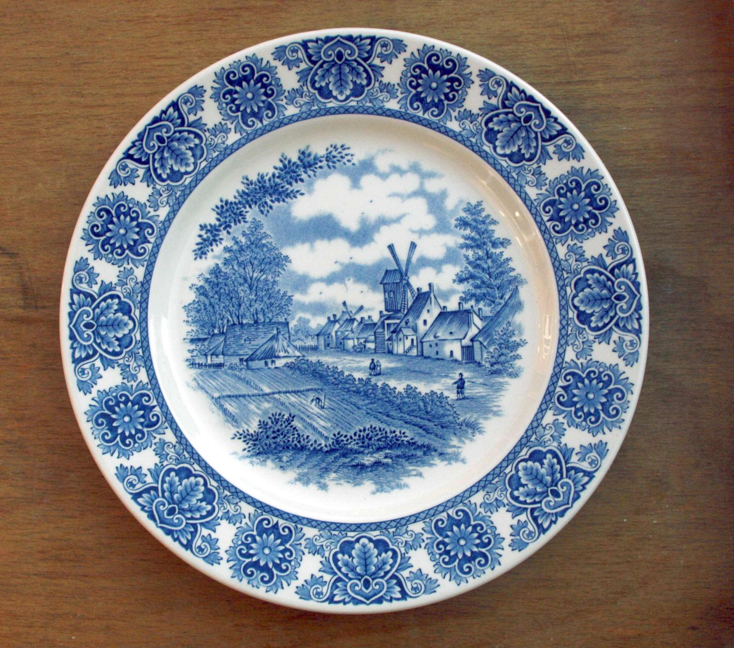 A personal favourite from my Etsy shop https://www.etsy.com/uk/listing/288291917/vintage-broadhurst-delftware-blue-and
