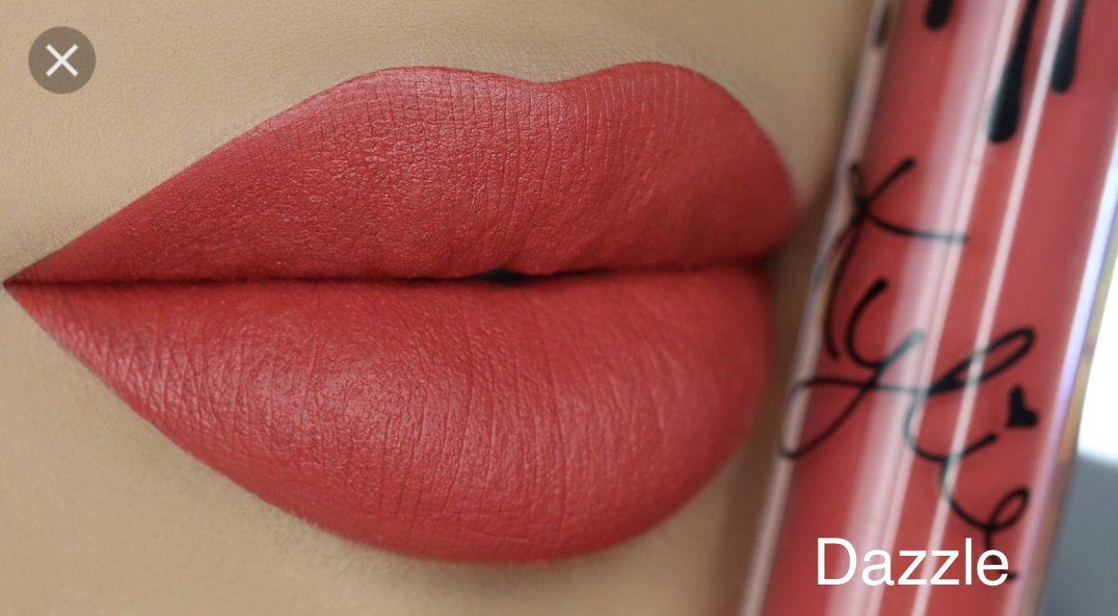Kylie Jenner Liquid Lip Kit Dazzle Velvet Kylie Lip Kit Swatches Kylie Cosmetics Velvet Lipstick