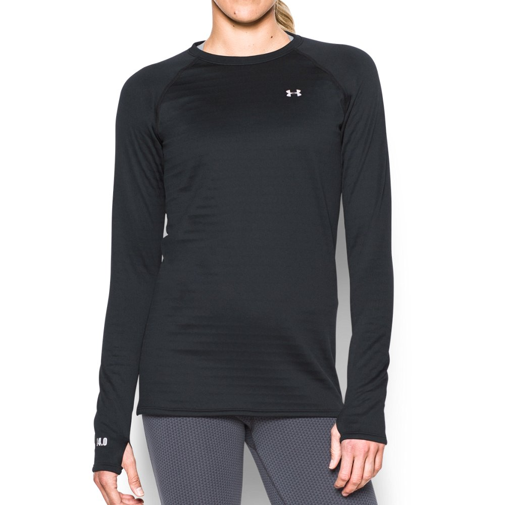 Ladies Womens Base Layer Long Sleeve Compression Armour Gym top.S-2XL