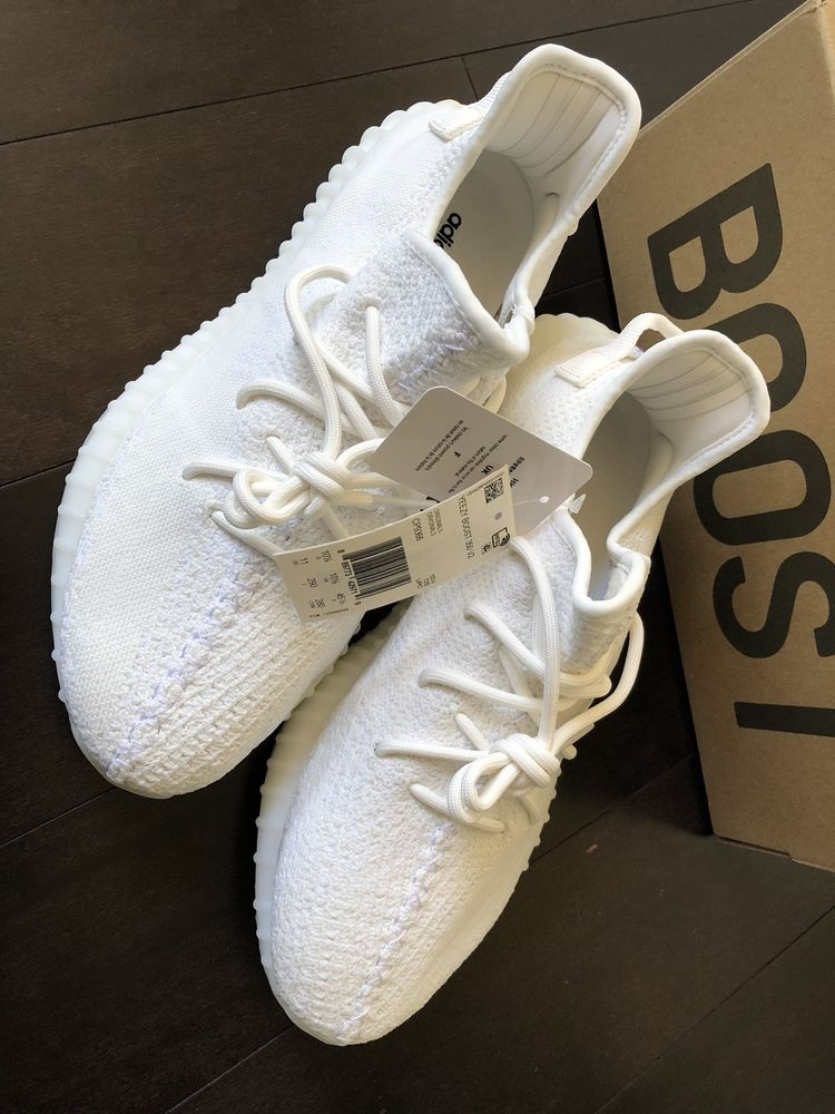 7522b4229 adidas Yeezy Boost 350 V2 Cream White Triple White Size 10.5 and 11   fashion  clothing  shoes  accessories  mensshoes  athleticshoes (ebay link)