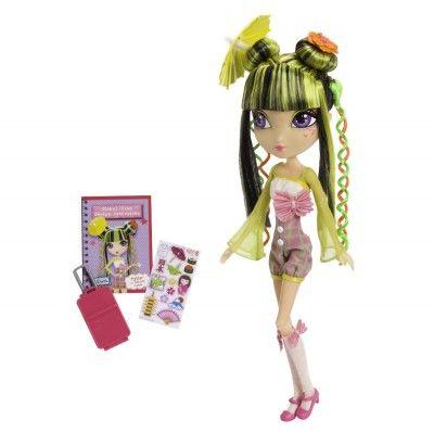 Brinquedo Spinmaster La Dee Da Runway Vacay Tylie as Kabuki Cutie