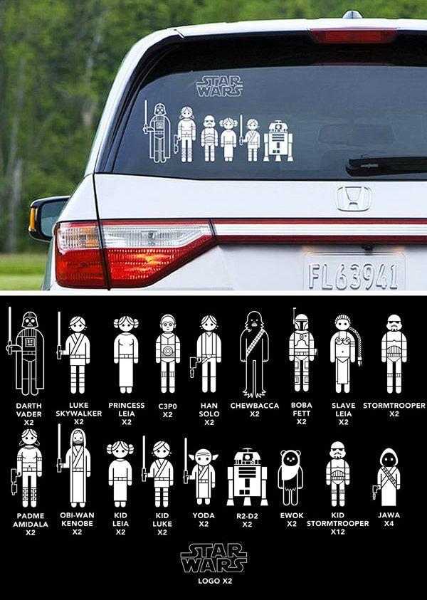 Star Wars stick family @Jill Green
