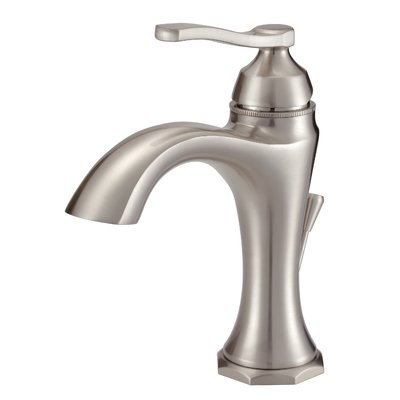 Danze Draper Single Hole Bathroom Faucet With Drain Assembly