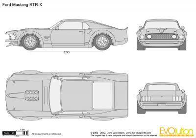 1969 Mustang Rtr X Track Rod Carros De Luxo Desenhos De Carros