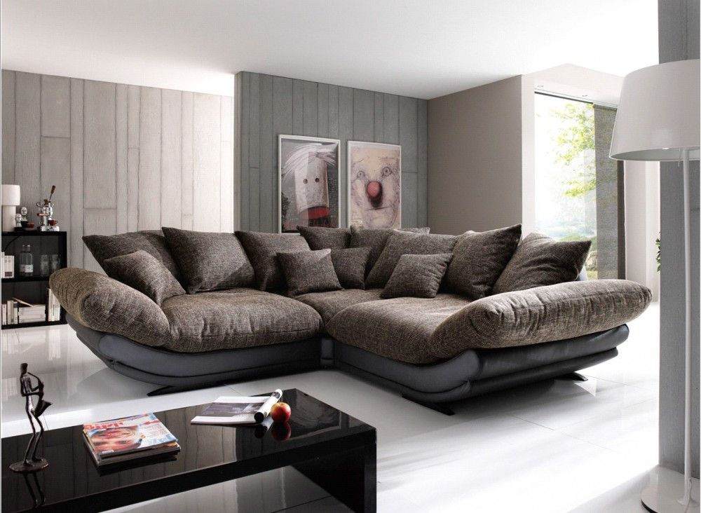 big living room sectionals wall color with dark brown furniture modern a new way to express how elegant your house is