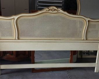 Vintage French Provincial Headboard By Drexel King Size French