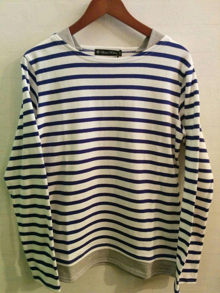 レイヤードボートネックバスクシャツ  music919さんのブログ