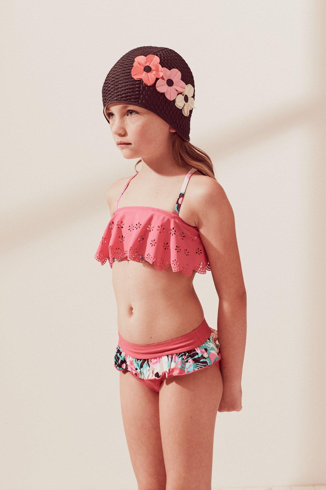 Young little girls bikini
