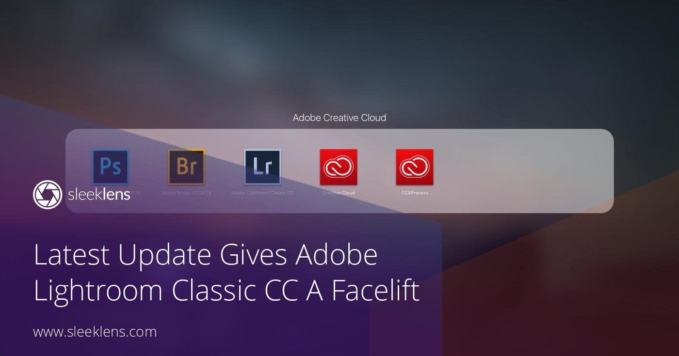 How to update lightroom cc