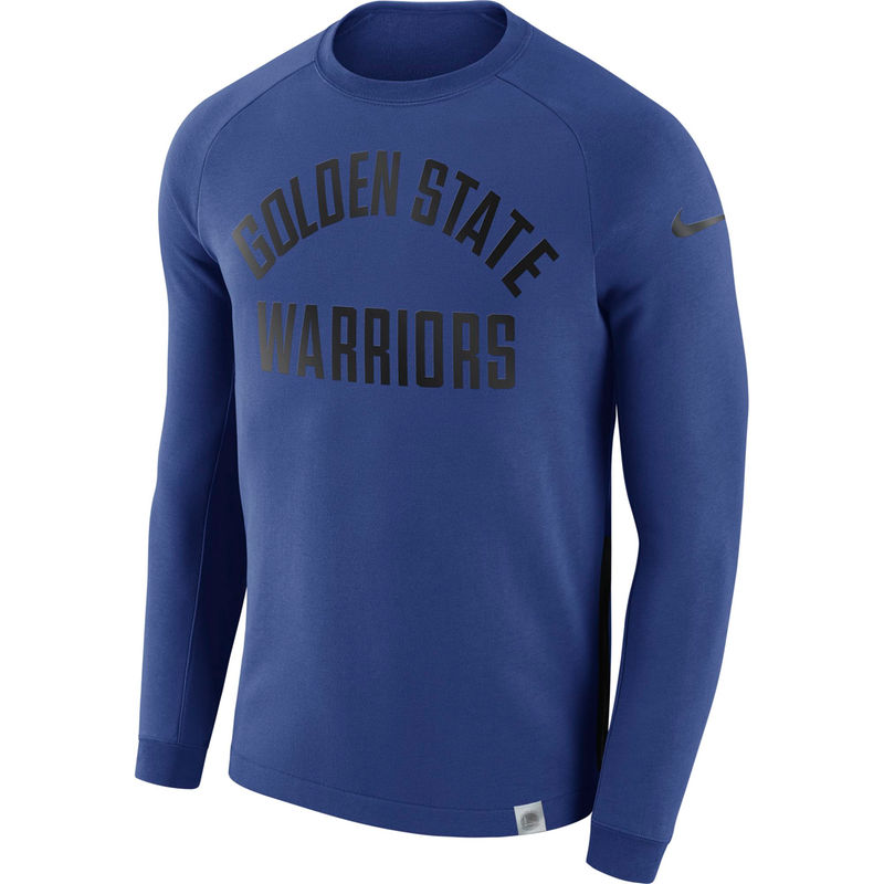 a342c266 Golden State Warriors Nike Modern Crew Sweatshirt – Royal | Products ...