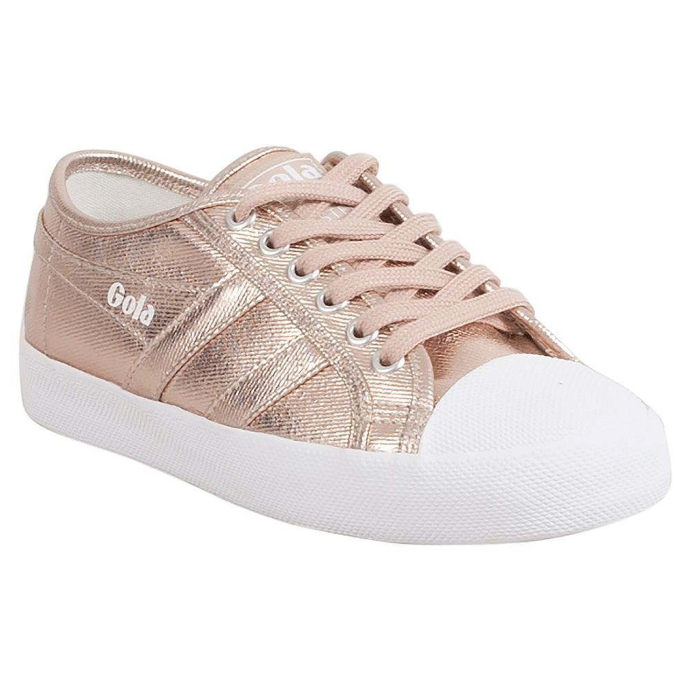 ab6ff873dd4d Gola Coaster Metallic Women s Low-Top Sneaker