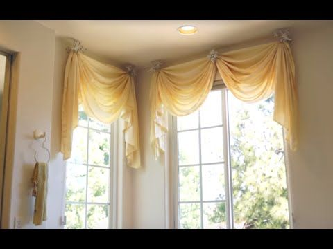 Curtains and Drapes Los Angeles: Elegant Master Bed and Bathroom Window Treatments : 3 Simple Designs