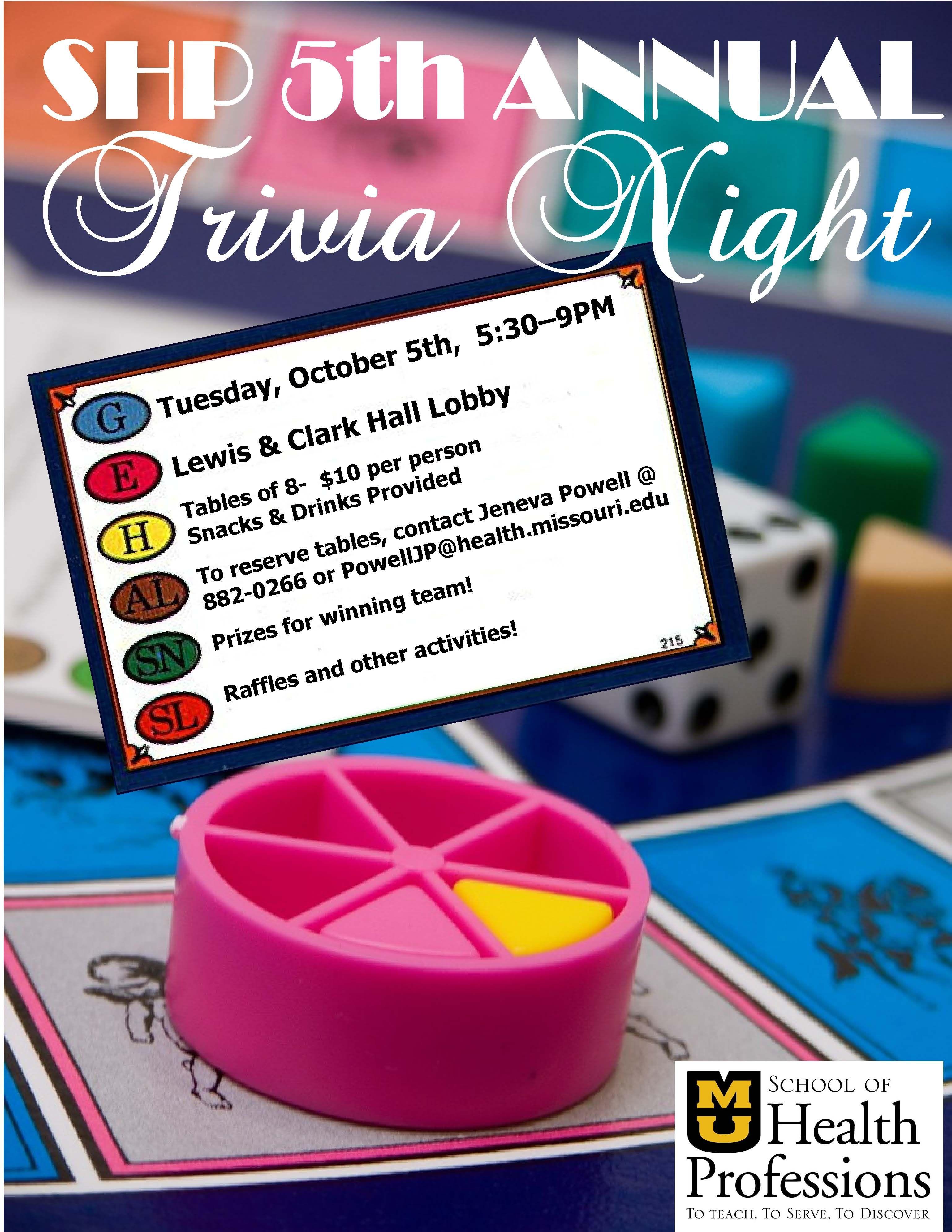 trivia night 2010 Trivia night, Fundraiser flyer, Trivia