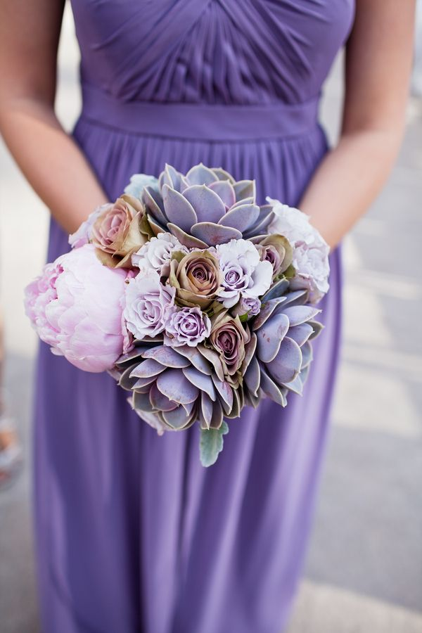 Succulents Galore! | Photo: Kara Pearson Photography, Floral Designer: The Perfect Petal