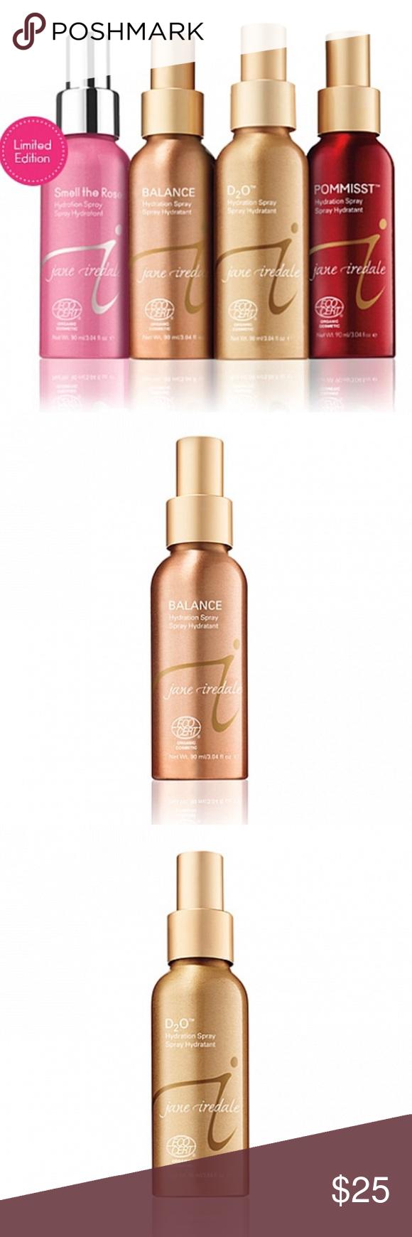 Jane Iredale Hydration Spray NEW! Orange essential oil