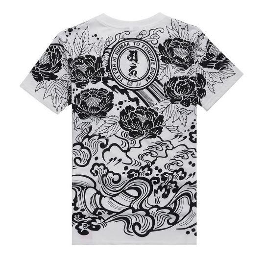 T Shirt Lotus Oriental Tattoo Japanese Streetwear Japanese Tattoo Oriental Tattoo Japanese Streetwear
