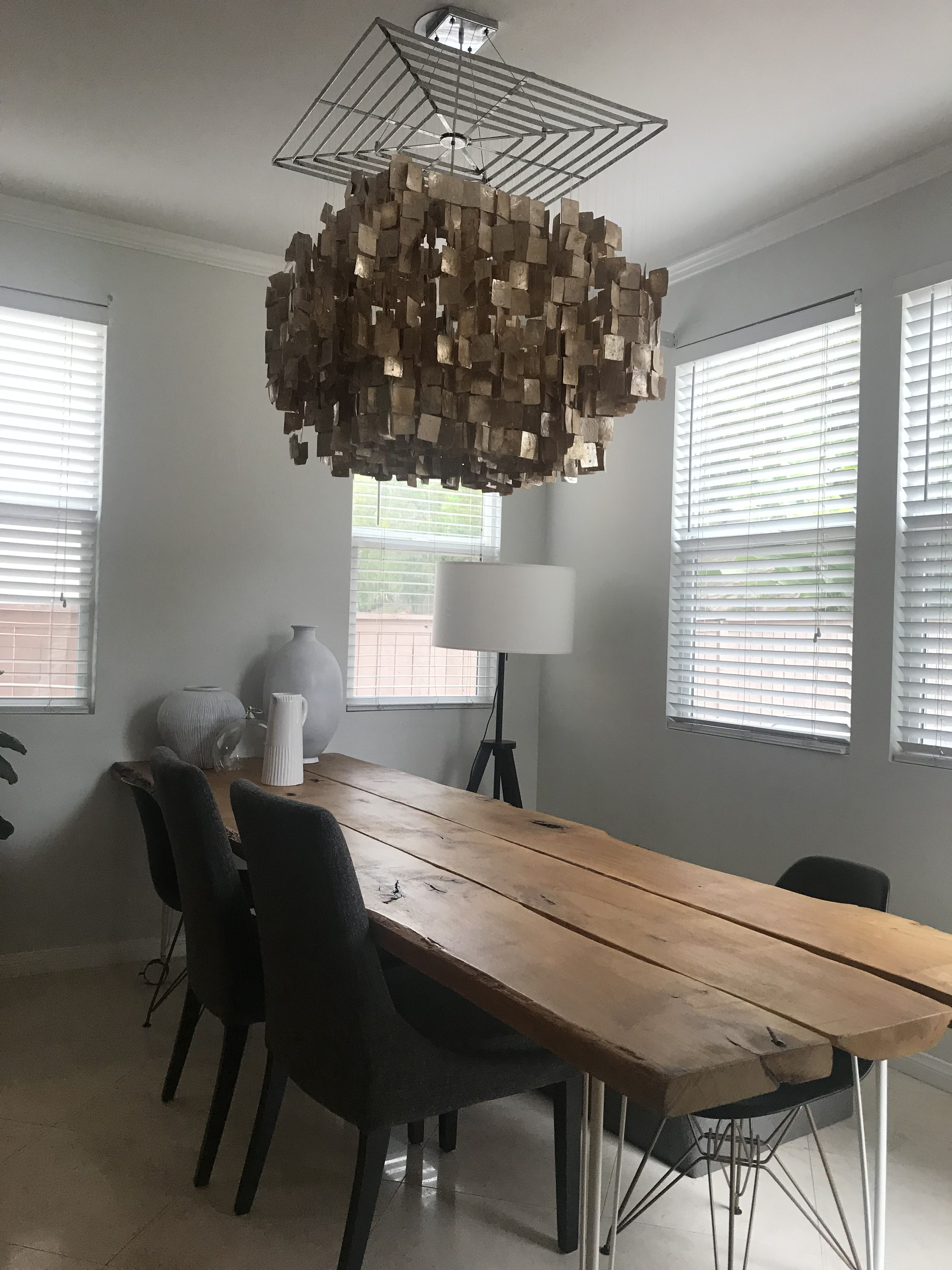 How I made a Dining table and used Ikea pin caster legs