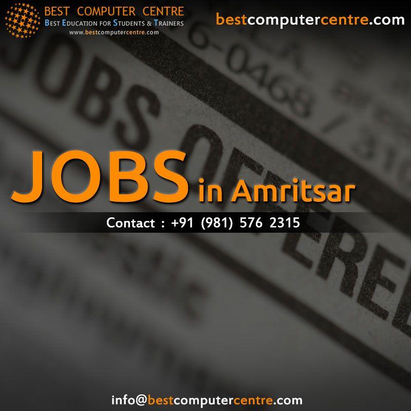 Jobs In Amritsar Freshers Web Designing Jobs Seo Jobs Web Design Training Web Design Jobs Web Design