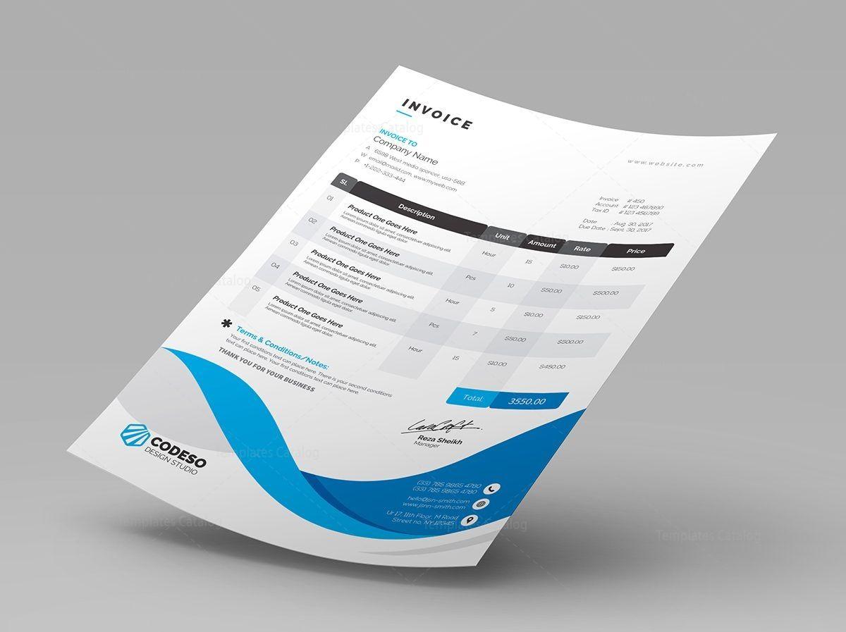 Professional Invoice Templates Premium Graphic Design Templates Invoice Template Invoice Design Template Invoice Design