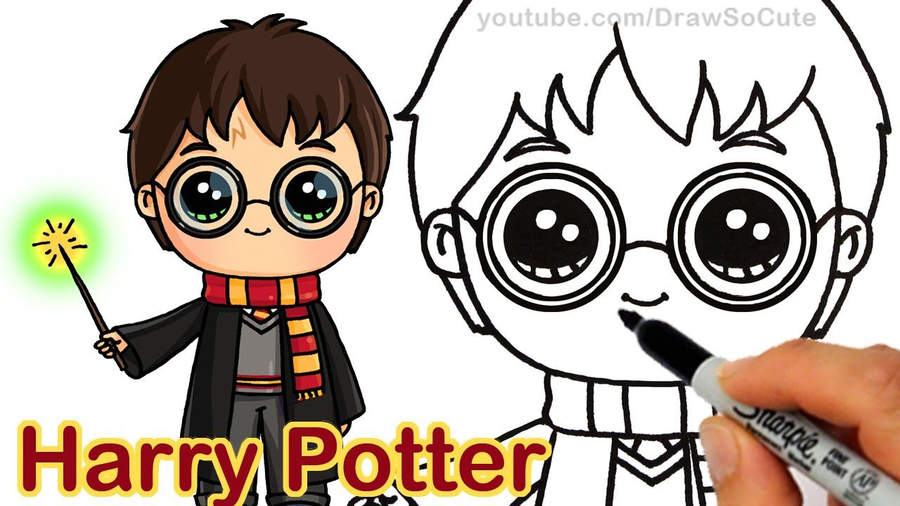How To Draw Chibi Harry Potter Step By Step Cute With Images