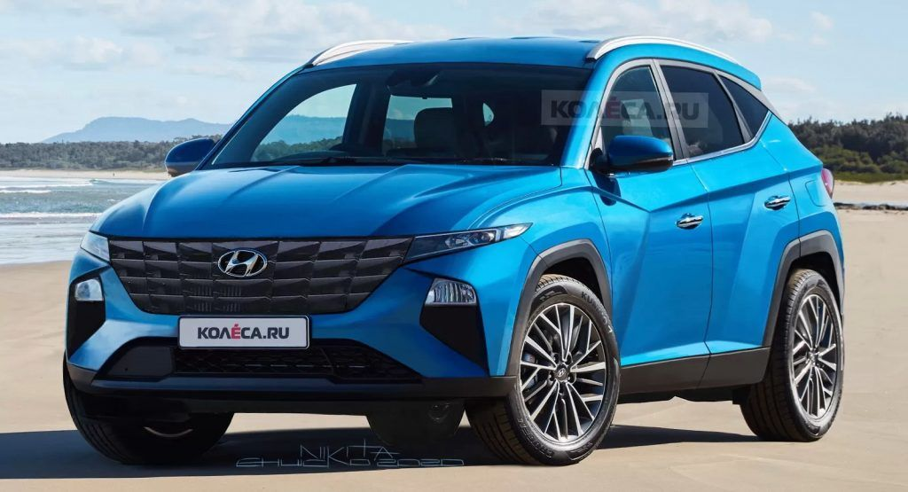 2021 Hyundai Tucson An Illustrated Preview Of The Next Gen Compact Suv Carscoops In 2020 Hyundai Tucson Hyundai Compact Suv