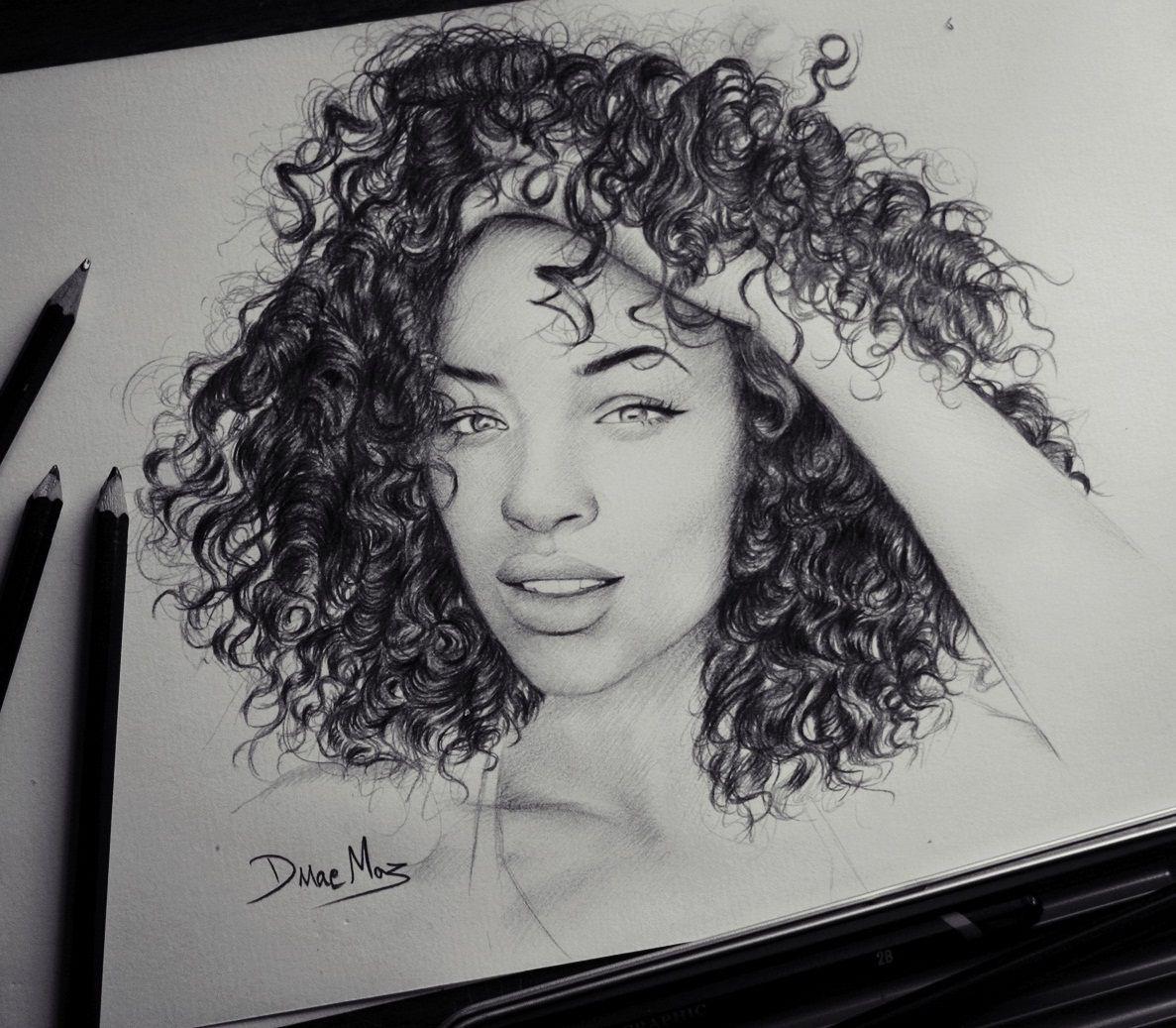 mvp #curly #hair #drawing