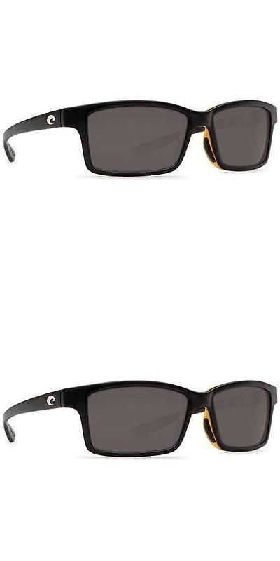 c2409c5ee2 Sunglasses 151543  New Costa Del Mar Tern Polarized Sunglasses 580P  Black-Amber Grey Fishing