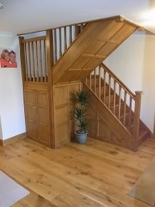 Maybe this would be a good solution for the staircase?