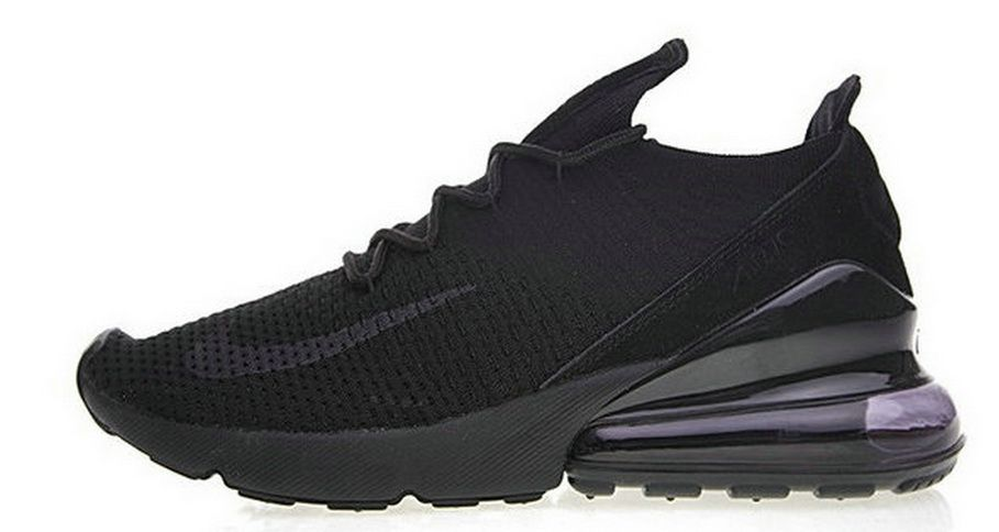 acheter en ligne 4ec5b d8661 Nike Air 270 Flyknit All Black Ah6803 002 | www.vipairmax270 ...