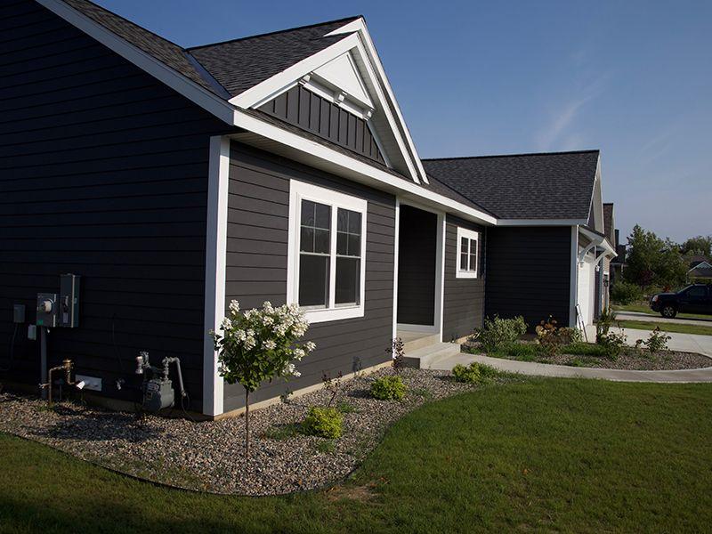S6 Board Batten In Ironstone Ranch House Exterior Exterior House Renovation House Exterior