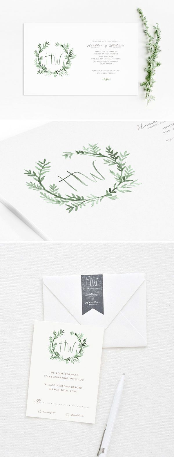 Diy wedding invitations rubber stamps funny wedding rsvp cards