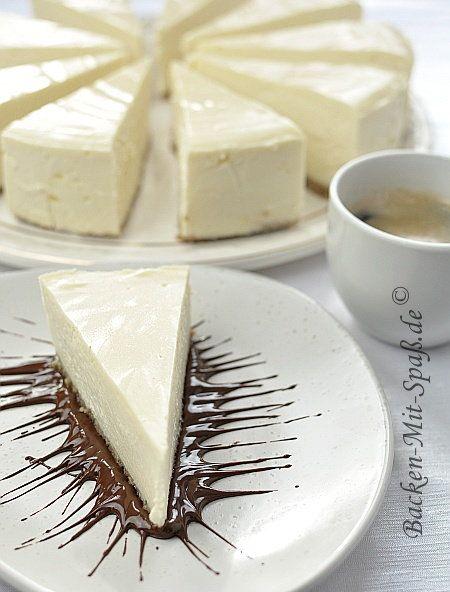 New York Cheesecake - Amerikanischer Käsekuchen