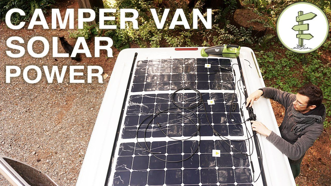 Van Life Our Amazing Stealth Solar Power Set Up Off