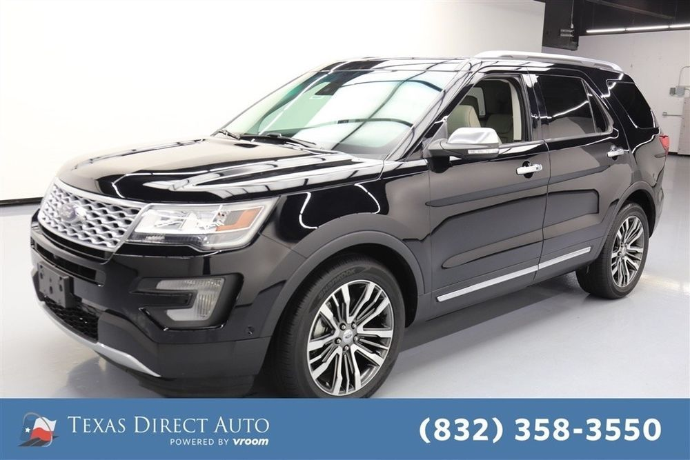For Sale 2016 Ford Explorer Platinum Texas Direct Auto
